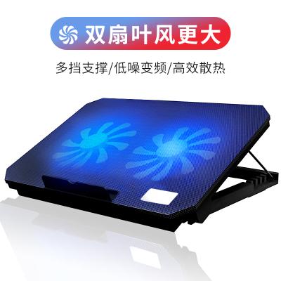 諾西(NUOXI)筆記本電腦散熱器AMD酷睿CPU散熱底座靜音散熱墊風冷降溫支架可調節蘋果13聯想14寸15.6寸游戲本
