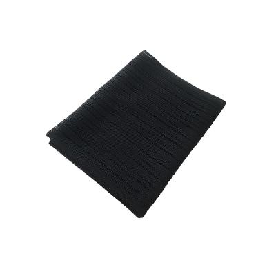 網樓梯防護網閃電客兒童網陽臺圍欄護欄網網防護網繩防墜網家用 黑色0.8米*3米