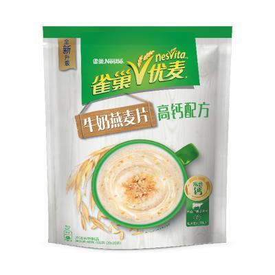 雀巢(Nestle) 优麦麦片 600g袋装 冲调饮品