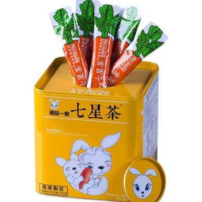 uniworks香港进口儿童七星茶颗粒冲剂 奶粉伴侣 开胃宁神定精助消化助睡眠清火宝10g*24包