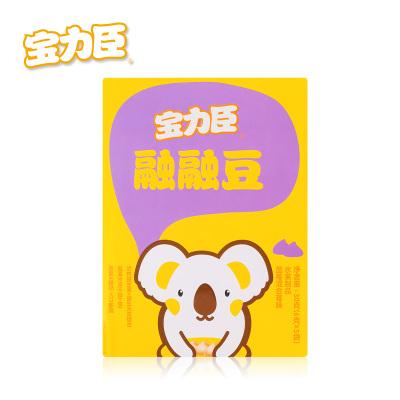 宝力臣宝宝辅食零食融融豆(蓝莓混合莓味)30克 盒装 小溶豆