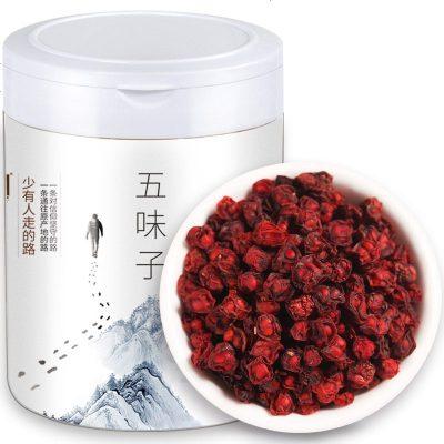 青源堂 五味子 北五味子茶150克长白山特产泡酒材料