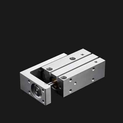 闪电客型小型气动导轨滑台气缸HLH/MXH6/10-5-10-15-20-25-30-40-50 MXH6-10