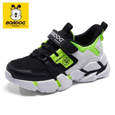 巴布豆BOBDOG HOUSE童鞋2020春款兒童運動鞋男童跑步鞋女童休閑鞋子B2114