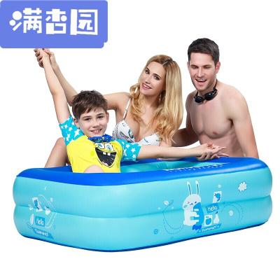 舒弗(LACHOUFFE)2020新款嬰兒游泳池家用兒童充氣水池家庭戲水池洗澡池玩具