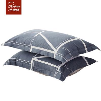 北極絨(Bejirog)全棉枕套2只裝單雙人純棉枕芯套 床上用品