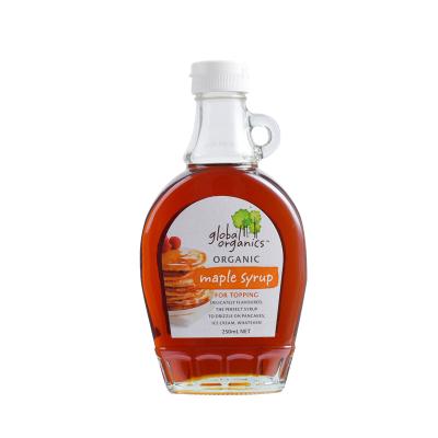 【保稅直發】澳洲進口 Global Organics 有機楓糖漿 250ml 甜品調料