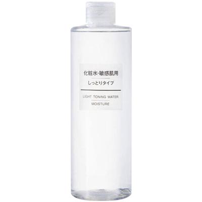 MUJI无印良品 敏感肌系列化妆水 滋润型 400ml 保湿滋润 收缩毛孔 敏感性肤质通用
