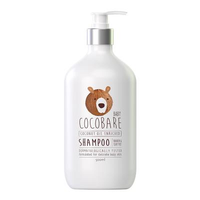 cocobare天然椰子油精華洗發水500ml 溫和0刺激寶貝嬰兒孕婦產婦男士女士用去屑止癢控油無硅油兒童專用非洗護套裝