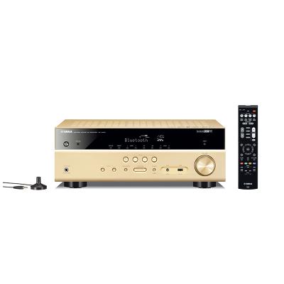 雅馬哈(YAMAHA) RX-V485藍牙4K 5.1聲道家庭影院AV功放金色