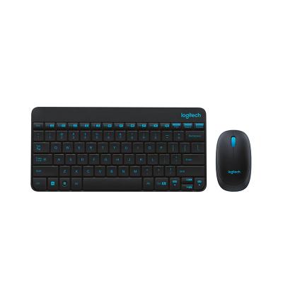 羅技(Logitech) MK245 NANO 無線鍵盤鼠標鍵鼠套裝筆記本電腦-黑色
