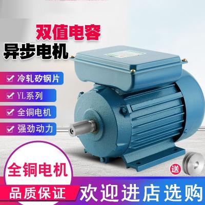 電機3kw全銅芯馬達220v兩相高速CIAAz交流電動機低速 0.75KW(4極/1420轉)
