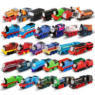 托马斯和朋友(THOMAS&FRIENDS)合金小火车中型挂钩儿童玩具火车头惯性滑行BHX25(款式随机不指定)