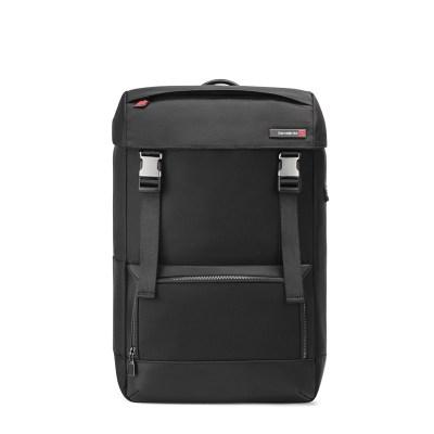 Samsonite/新秀麗雙肩包男時尚潮流背包抽繩 DV5新款商務電腦包