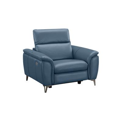 科智乐智能欧式真牛皮沙发组合NANA-U 米白 一人位