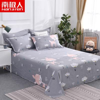 南极人(NanJiren)家纺 全棉床单单件 床上用品纯棉床单床罩单品