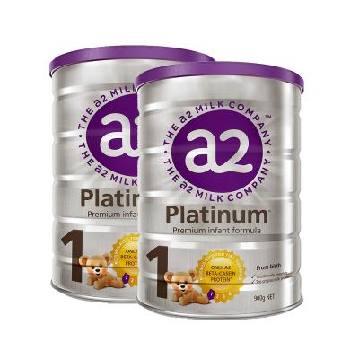 2罐裝|澳洲a2Platinum白金版嬰幼兒奶粉1段900g(0-6個月)
