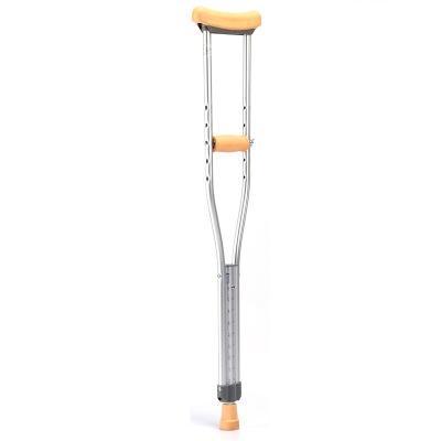 魚躍 鋁合金腋下拐杖YU860 殘疾人拐杖雙拐 大號