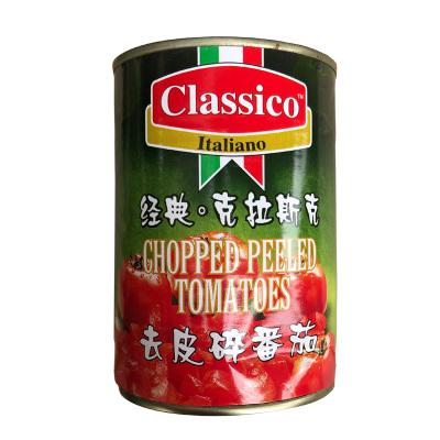 意大利进口经典°克拉斯克牌去皮碎番茄罐头含番茄汁番茄罐头400g意面牛排西餐佐料番茄沙司进口蔬菜罐头