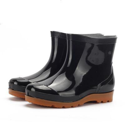 迪羅尼卡時尚迷彩防滑低筒透氣雨鞋男士雨靴水鞋洗車工作釣魚膠鞋水靴單鞋