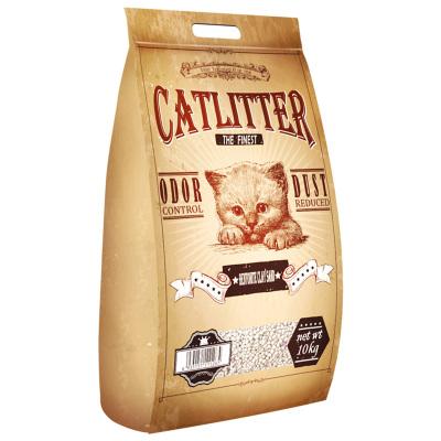 西西猫膨润土猫砂10公斤除臭结团猫沙膨润土低尘猫砂20斤10kg猫咪用品