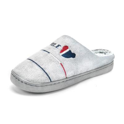 棉拖鞋女秋冬季防滑室內家用保暖情侶家居毛絨月子鞋厚底棉拖男士