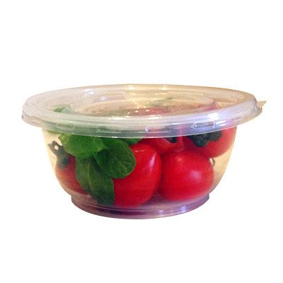 【塑料碗 600套環保碗+蓋 800ml】一次性塑料碗筷勺子打包袋圓形刨冰涼冰粉碗打包透明飯盒帶蓋