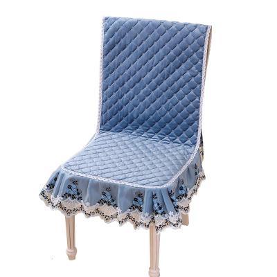 餐桌椅子套罩一体家用椅套椅垫套装简约现代餐桌布长方形茶几布艺弧威