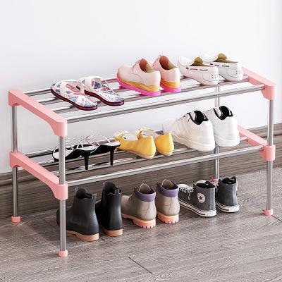 索爾諾簡易多層鞋架 組裝防潮層架簡約現代鞋柜鐵藝收納架