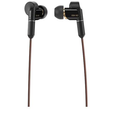 索尼(SONY)XBA-N3BP 高解析度立体声耳机 黑色
