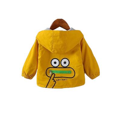 童裝秋裝男女童新款兒童外套中小童連帽夾克秋款寶寶上衣兒童運動夾克 莎丞