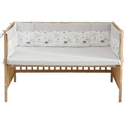 CottonTown 棉花堂春夏款儿童宝宝针织床围软包婴儿床护栏防撞围棉新生儿挡布3105