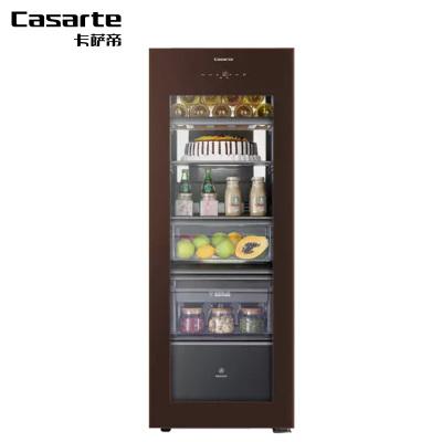 Casarte冰吧LC-172WEU1 172升辦公室家電 健康家客廳冰箱 母嬰冰柜 保鮮柜 儲茶茶葉柜 紅酒柜 飲料柜