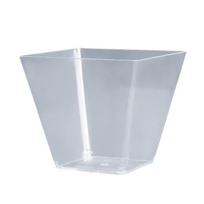 【50ml 馬提尼杯 48個 兩箱裝】一次性PS塑料布丁杯慕斯杯木糠杯甜品杯果凍杯提拉米蘇