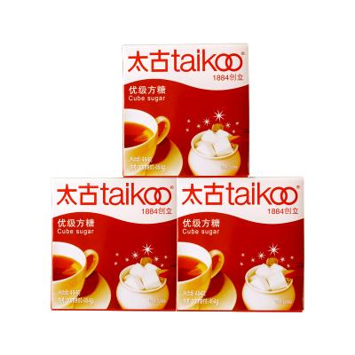 Taikoo太古方糖 咖啡奶茶伴侶454g*3盒裝方糖塊共300個咖啡調糖