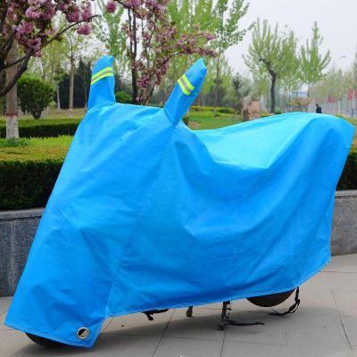 電動車車罩防雨車衣摩托車防曬罩么托套子電瓶車防雨罩 蓋車布朵洛蒂