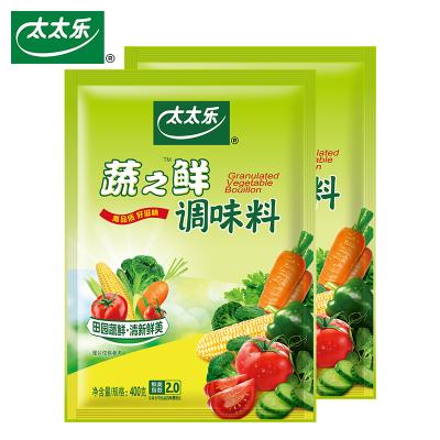 【正常發貨】太太樂蔬之鮮400g*2袋素食炒蔬菜調味料調味廚房調料