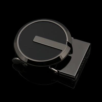 士皮帶扣頭東莞扣合金 自動扣皮帶頭 圓頭扣3.6厘米內徑 定制