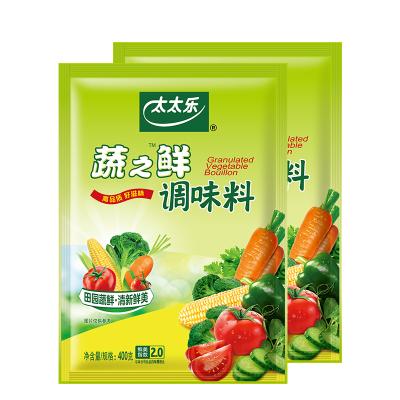 【李湘推薦】太太樂蔬之鮮400g*2袋素食炒蔬菜調味料調味廚房調料