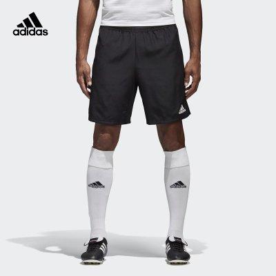阿迪達斯(adidas)CON18 WOV 男子足球訓練跑步運動梭織短褲CF4313
