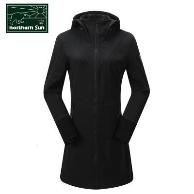 NorthernSun 加拿大加拿大諾思山戶外軟殼衣風衣女中長款秋冬透氣保暖外套6452/9376