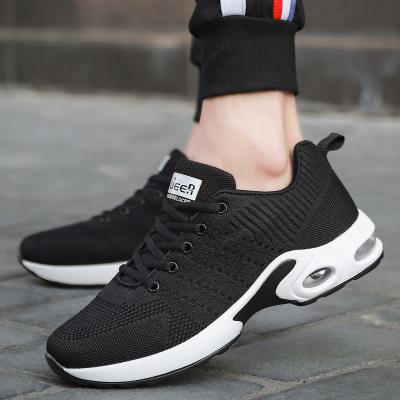 德爾加多2020夏季新品特大碼男鞋飛織45碼休閑鞋47碼氣墊加大號運動鞋48碼慢跑步鞋46碼