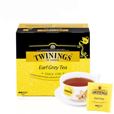 英国川宁(TWININGS) 豪门伯爵经典红茶50包*2g 波兰进口茶叶袋泡茶包