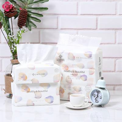 潔麗雅(grace)一次性洗臉巾干濕兩用女家用加厚棉柔巾 MRJ020-3 三連包 20*20cm/90抽