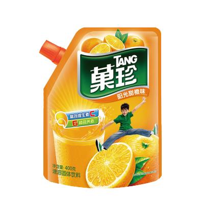 【領劵滿188-100】菓珍-壺嘴裝-陽光甜橙-400g補充維生素C果汁粉沖調橙汁速溶飲料