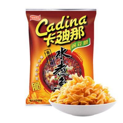 卡迪那豌豆脆水煮魚味52g