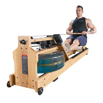 划船机智能水阻力划船器家用折叠瘦身静音环保运动机闪电客健身器材