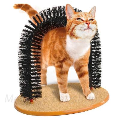 憨憨宠 猫咪蹭痒器蹭毛器猫抓痒拱桥痒痒挠猫抓板梳子拱门刷毛器