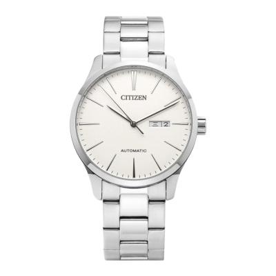 Citizen/西铁城 手表自动机械表男 手表男士自动机械手表日本原产不锈钢表带时尚商务休闲新款腕表