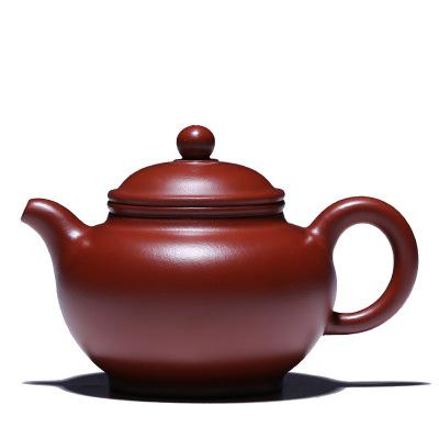 宜興紫砂壺泡茶壺單壺龍山大紅袍 掇只茶壺沏茶壺器功夫